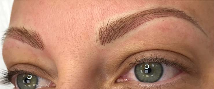 3D Stroke Semi Permanent Eyebrows