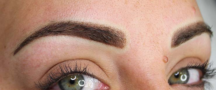 Balayage Or Ombre Semi Permanent Eyebrows