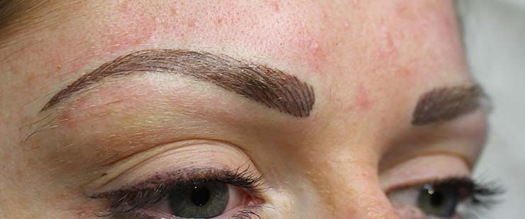 Combination Or Block Semi Permanent Eyebrows